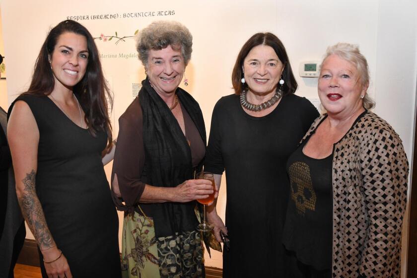 Nicole Hadfield, Irene De Watteville, Erika Torri (Athenaeum executive director), Margaret Jackson