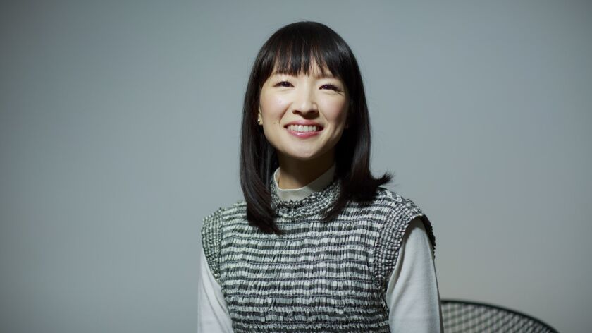 WEST HOLLYWOOD, CALIF. -- THURSDAY, JANUARY 17, 2019: Marie Kondo poses for a portrait in West Holly