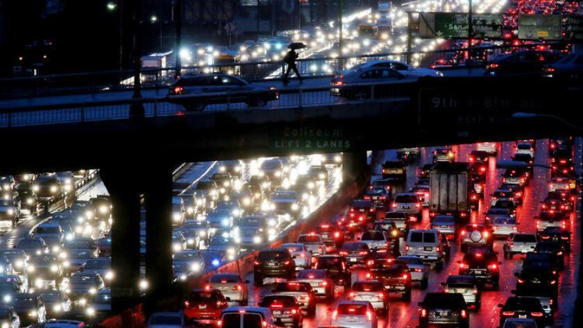 El trafico en Los Angeles