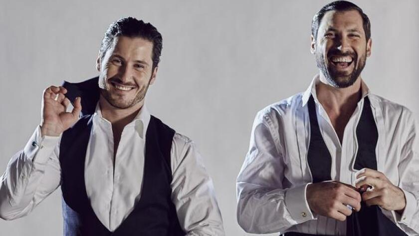 "Siblings Valentin (left) and Maksim Chmerkovskiy of ""Dancing With the Stars."" (Michael Rosenthal)"