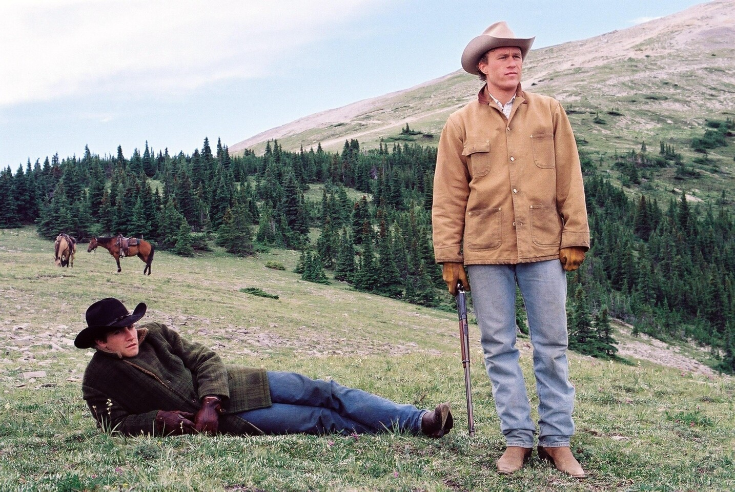 """When it opened in 2005, Focus Features' """"Brokeback Mountain"""" generated buzz for pushing boundaries of the western genre, though it ultimately lost the best picture Oscar to """"Crash."""" Domestic gross: $83,025,853."""