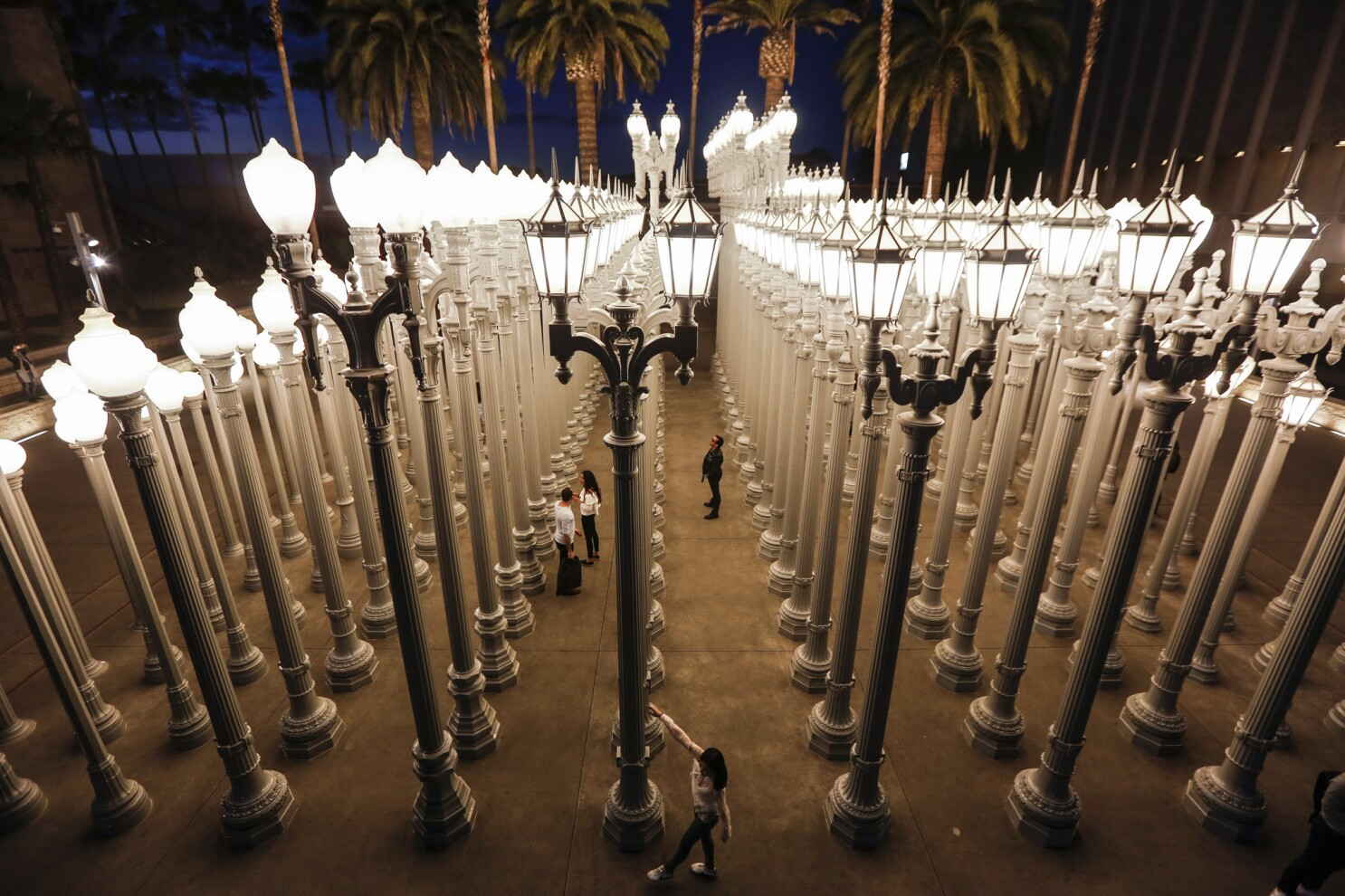 LACMA gallery closures make museum an expensive ghost town