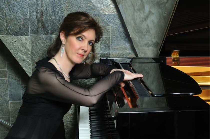 Classical pianist Anne-Marie McDermott performs Nov. 11, 2019 at the Athenaeum Music & Arts Library.