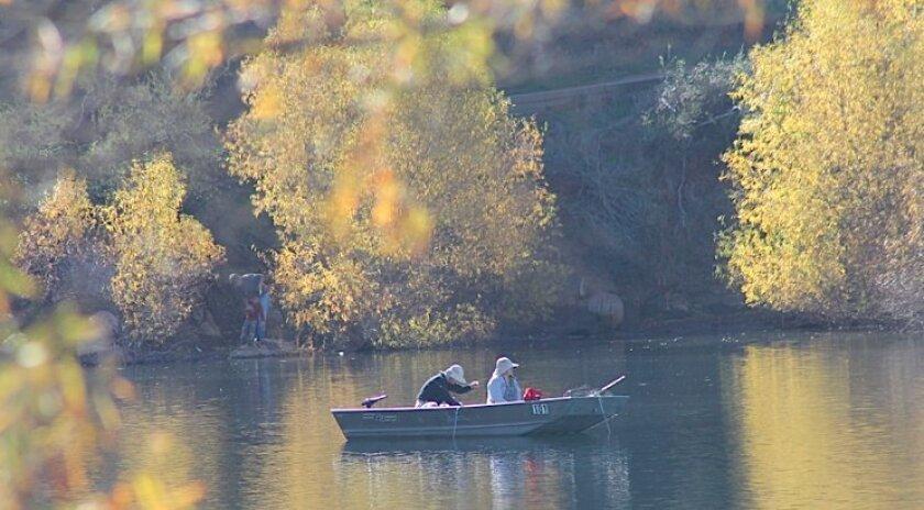 A serene Sunday morning at Lake Poway.