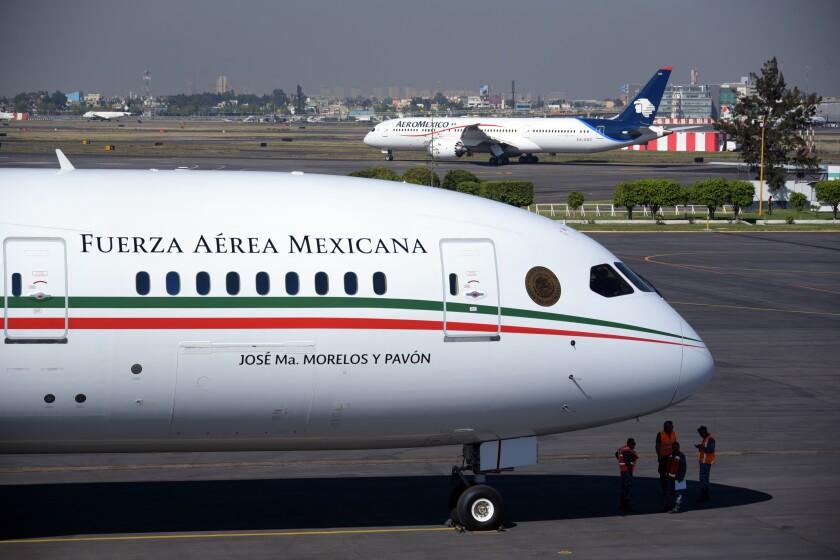 Mexico Presidential Plane