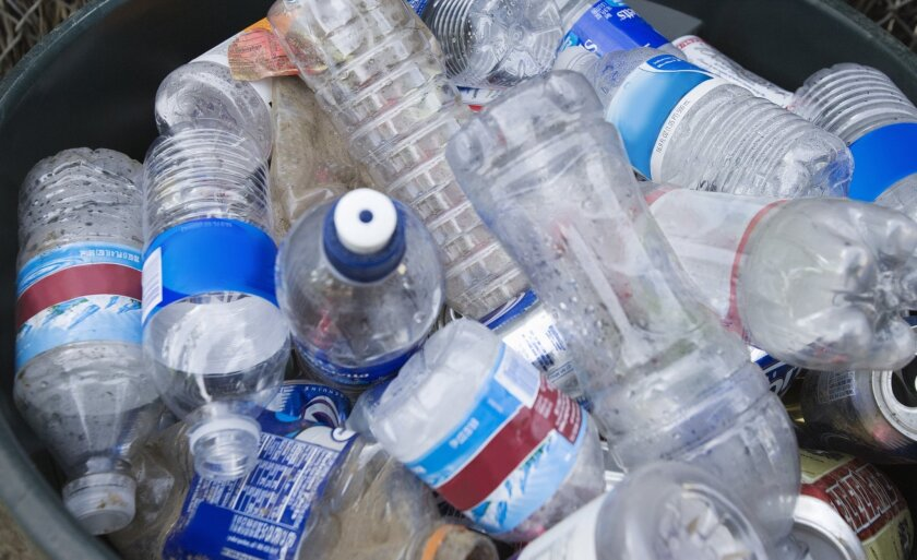 Mounds of disposable plastic bottles are a common sight after big festivals and events.