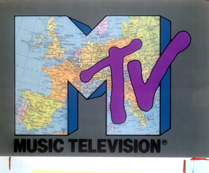 An MTV logo from 1996. The channel plans to return to its music focus.