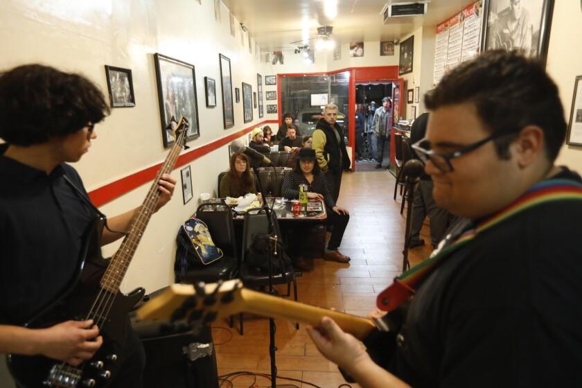 No Refunds performs at Alexander's Hub Burritos