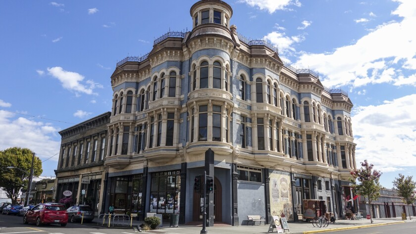 """The Port Townsend Leader called the Hastings Building """"the most elegant in the city"""" when it was constructed in 1889."""