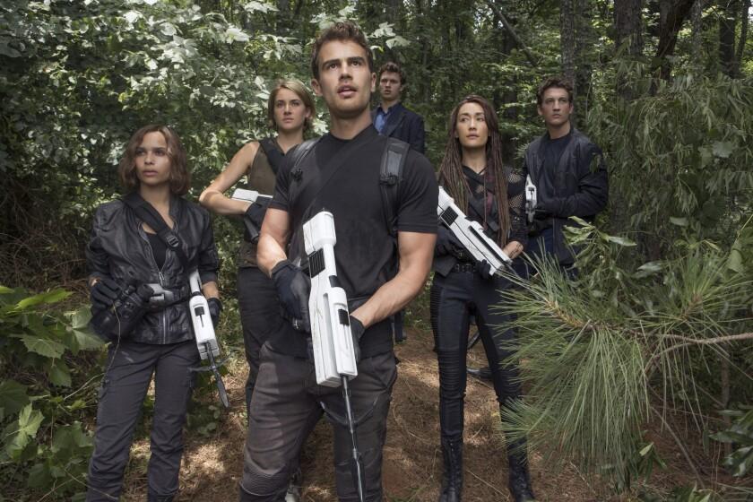 "A scene from the Lionsgate film ""Allegiant."""