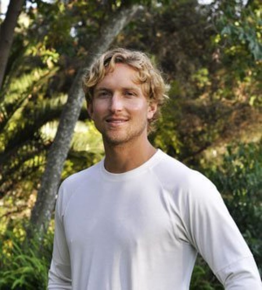 His father and nature inspire former lifeguard's first book.