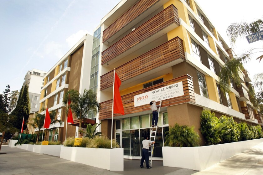 Rent prices in the Southland may be topping out - Los