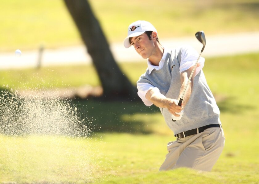 Italian Riccardo Michelini has been a strong contributor to the San Diego State men's golf team.