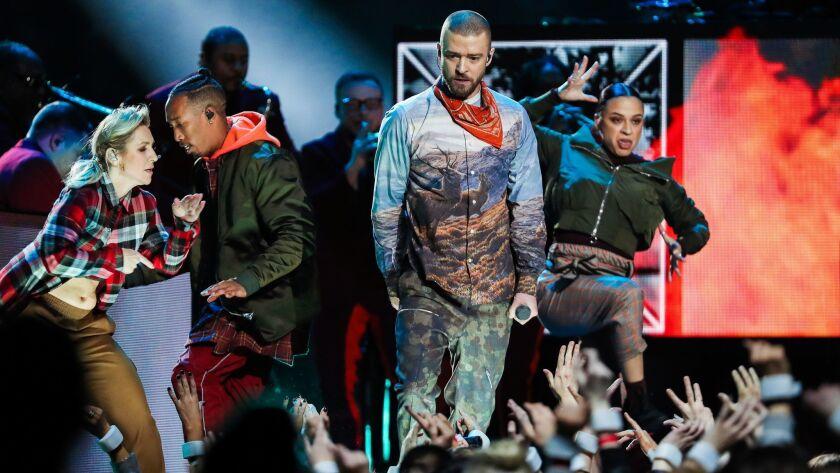 Super Bowl LII - Justin Timberlake Halftime Show
