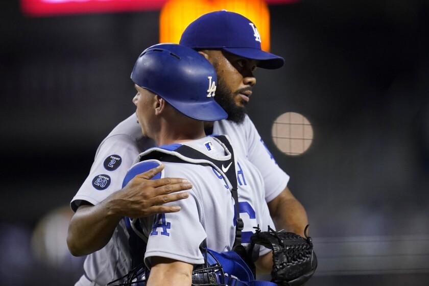 Los Angeles Dodgers relief pitcher Kenley Jansen