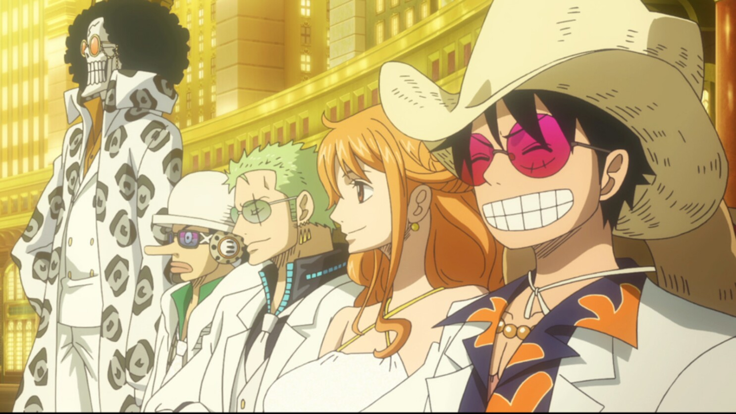 There S A Message To The Madness Of Animated One Piece Film Gold Los Angeles Times