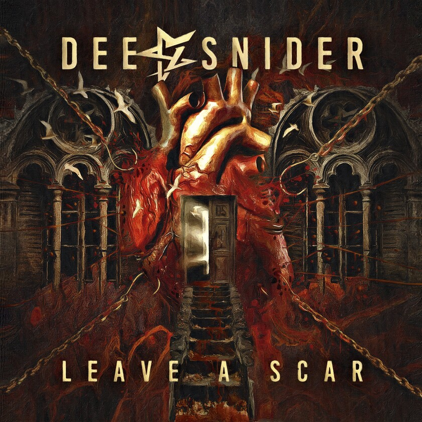 """This cover image released by Napalm Records shows """"Leave a Scar"""" by Dee Snider. (Napalm Records via AP)"""