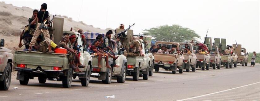 El enviado de la ONU para Yemen, Martin Griffiths, presentó hoy al Consejo de Seguridad un nuevo plan para retomar las negociaciones de paz en el país, mientras sigue tratando de evitar una gran batalla en la ciudad de Al Hudeida. EFE/ARCHIVO