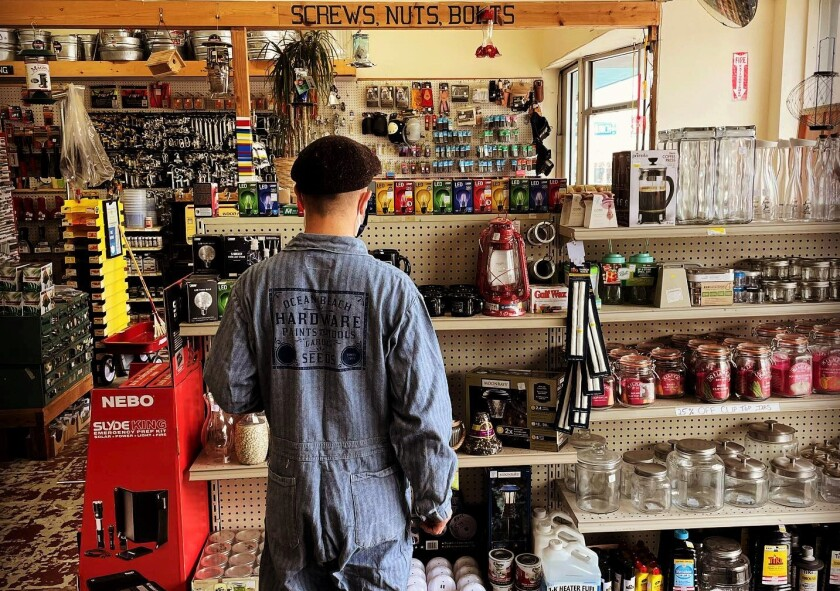 In 2018, Michael DeEmedio stepped in to save Ocean Beach Hardware store. Now he is moving on and seeks a new buyer.