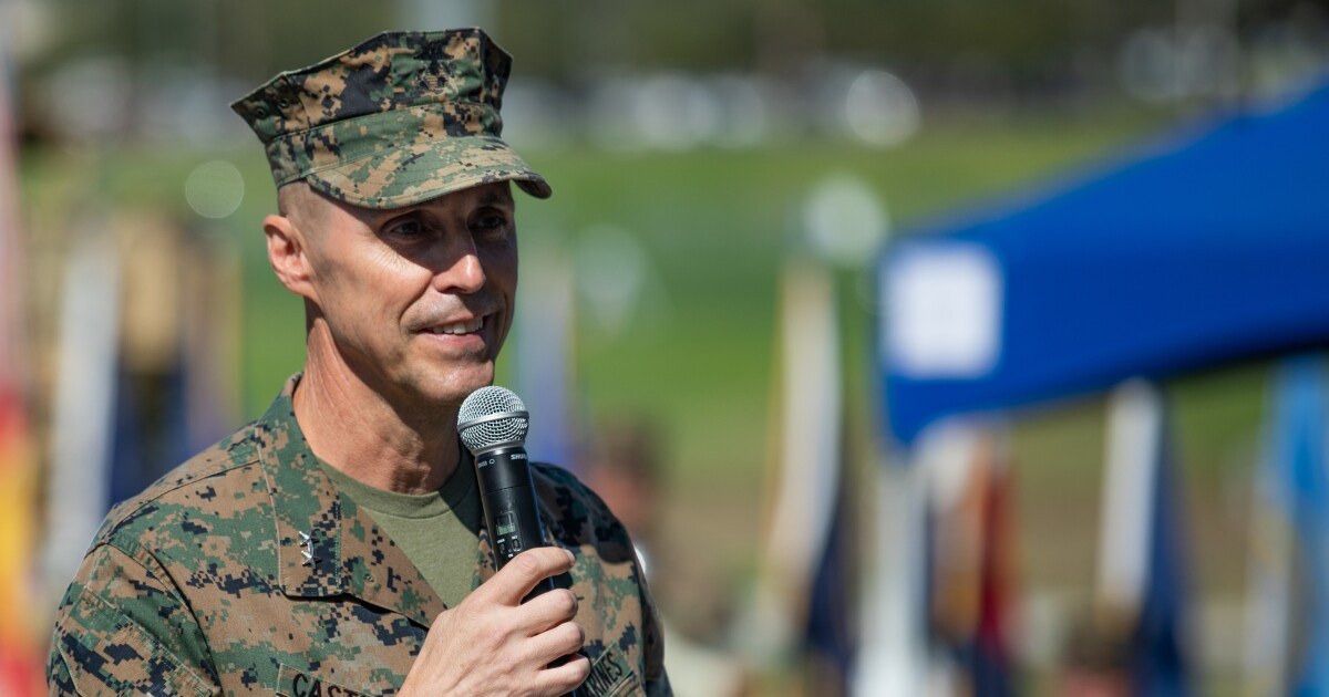 Marine Corps inspector general suspended amid probe into deadly AAV sinking last summer