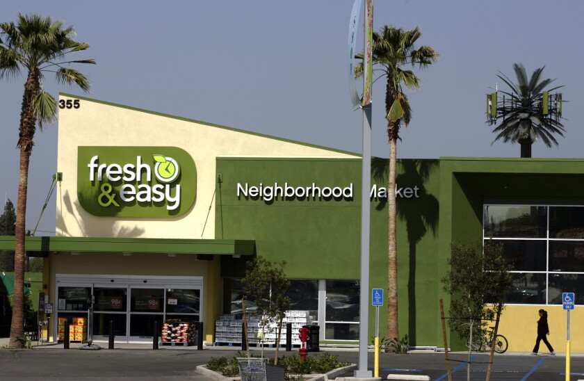 A Fresh & Easy store in Azusa that opened in 2009.