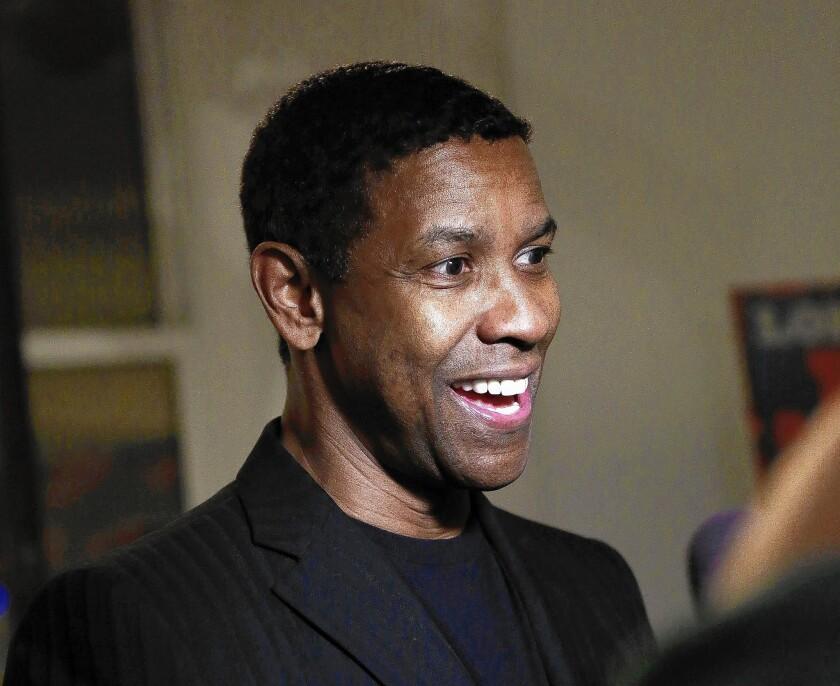 "Denzel Washington is starring in ""A Raisin In The Sun"" on Broadway."