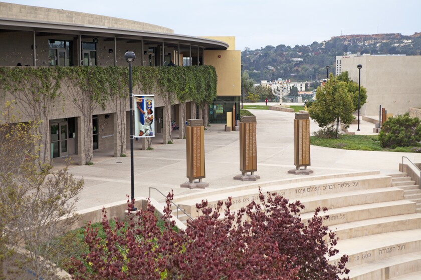 The San Diego Jewish Academy campus.