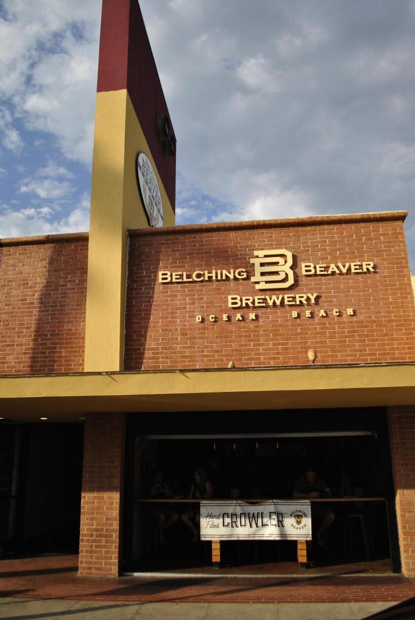 Belching Beaver Brewery Ocean Beach is located at 4836 Newport Ave.