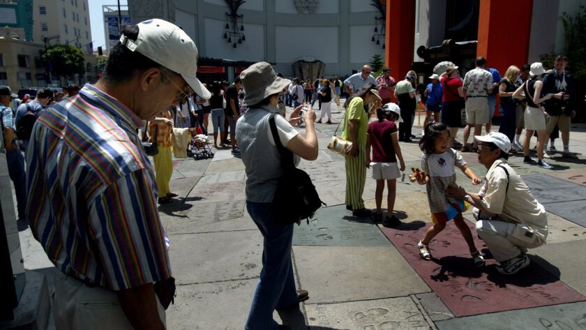 083803.FI.0624.TOURISM.2.LKH Japanese tourists are returning to Hollywood in great