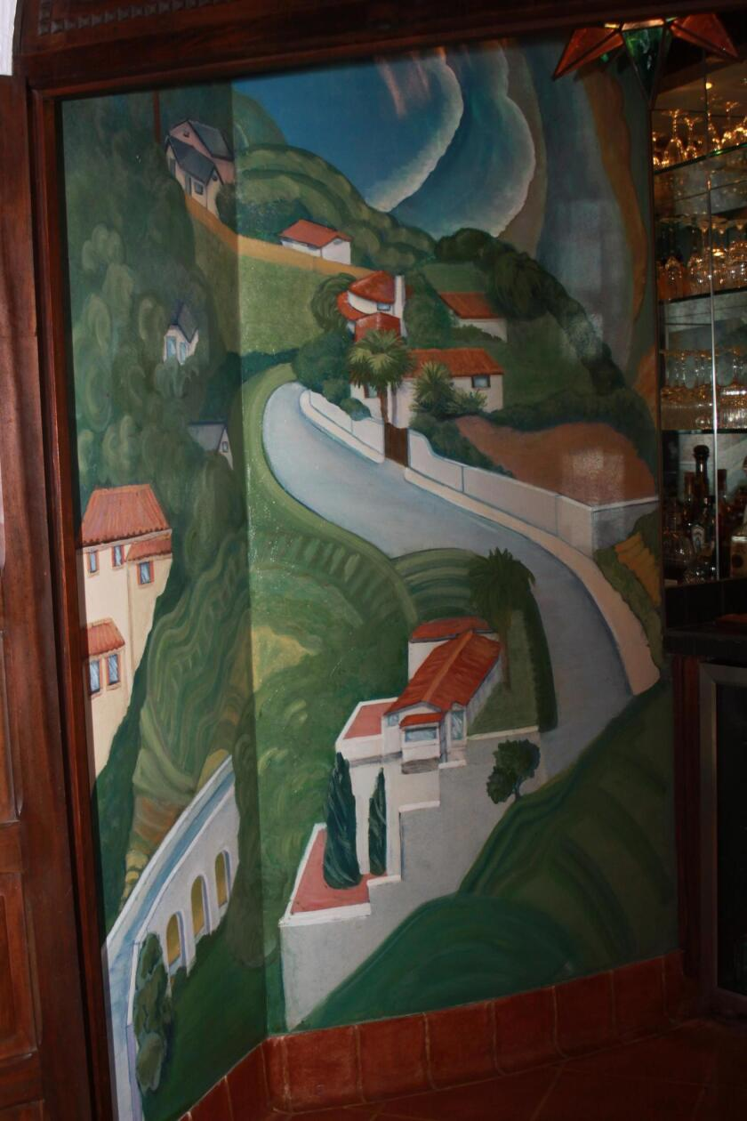 The house features a Belle Baranceanu mural, similar to the one at the historic La Jolla Post Office