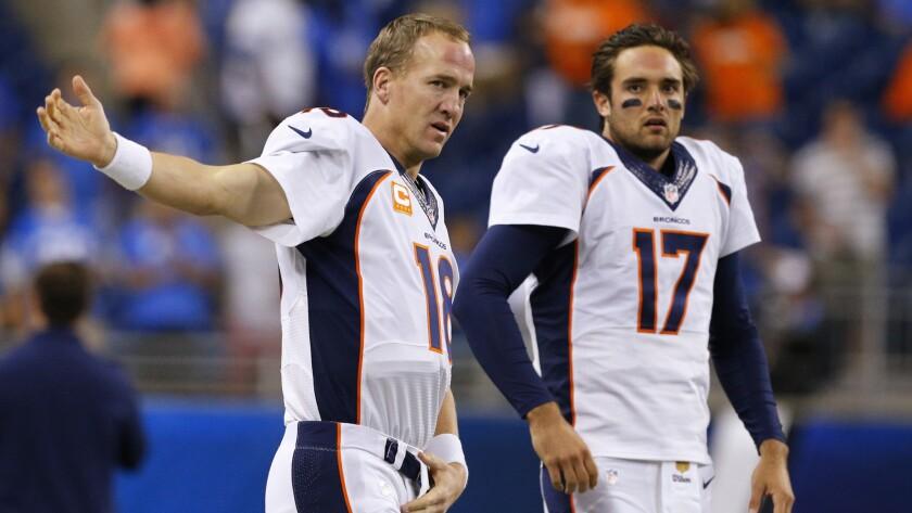 Coach Gary Kubiak Peyton Manning Will Start For Denver