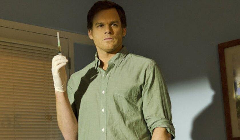"Michael C. Hall stars in ""Dexter."""