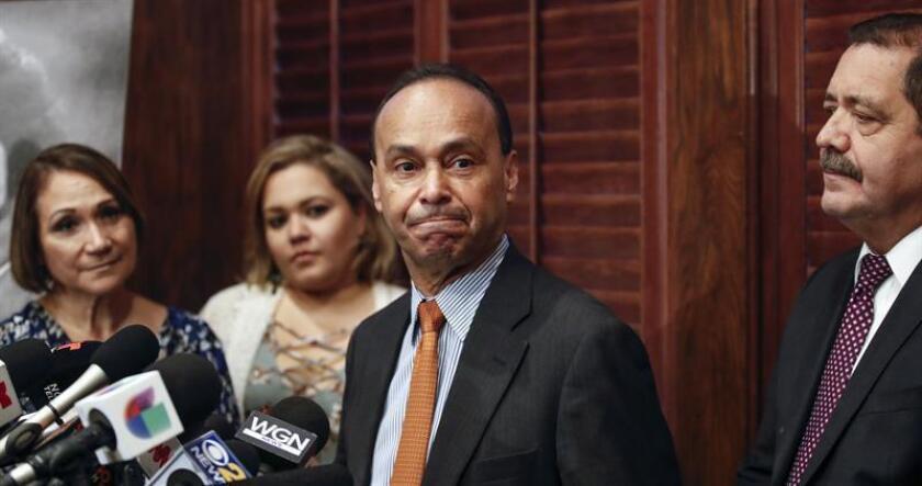 El congresista de EE.UU. Luis Gutiérrez. EFE/ARCHIVO