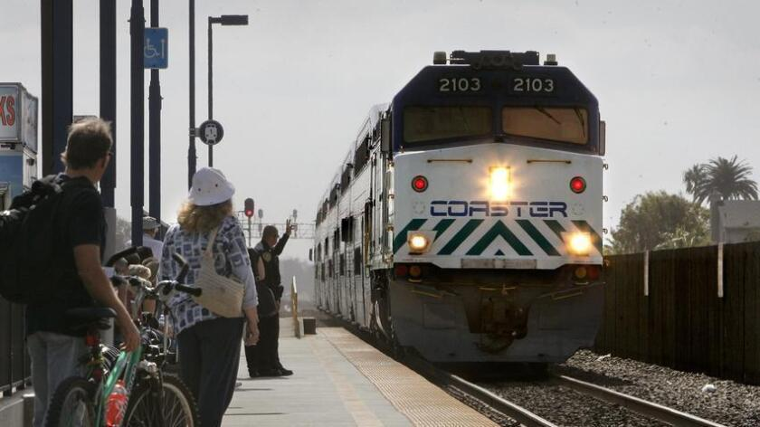 Woman using wheelchair hit by train in San Diego, suffers life