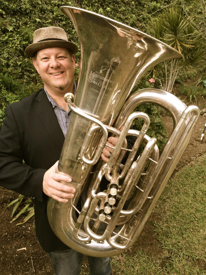 Bryan Smith, the tuba player in San Diego's acclaimed Westwind Brass, was a mainstay of Art of Elan and a veteran of numerous symphony orchestras.