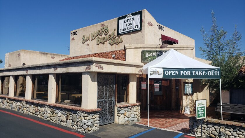 San Marcos Brewery & Grill announced its closure on Nov. 19.