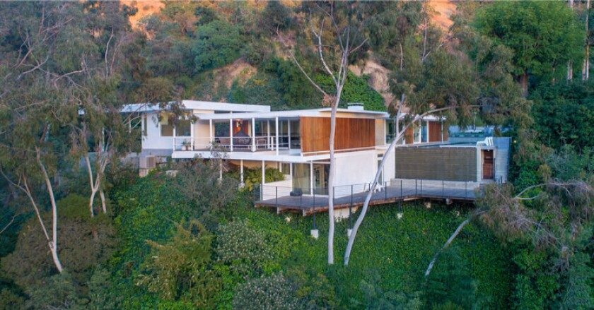 Annie Lennox's Hollywood Hills Midcentury | Hot Property