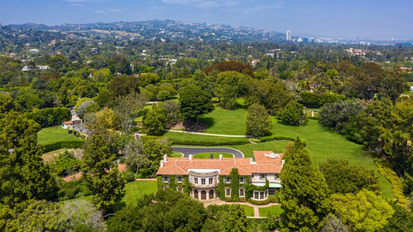 Owlwood Estate in Holmby Hills