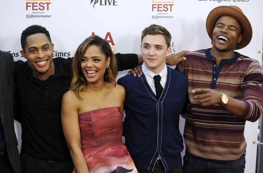 Brandon Bell, Marque Richardson, Tessa Thompson, Kyle Gallner