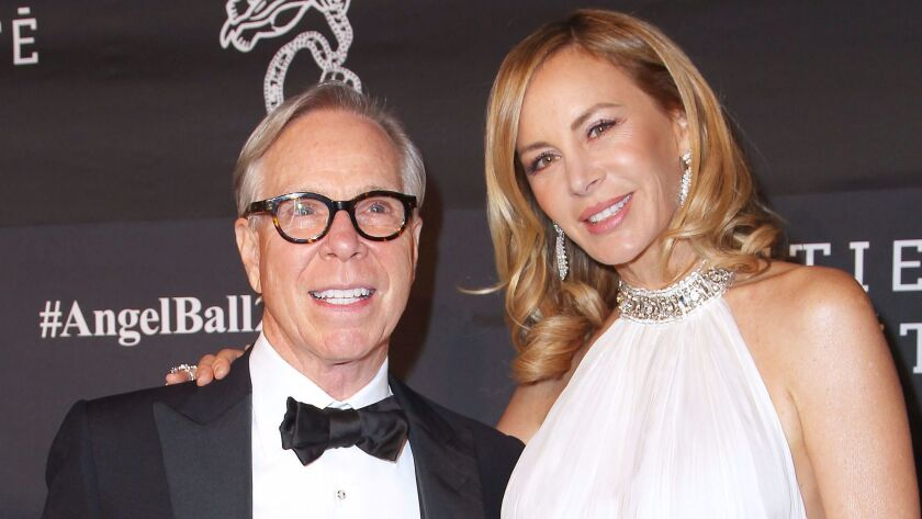 Tommy Hilfiger and Dee Ocleppo