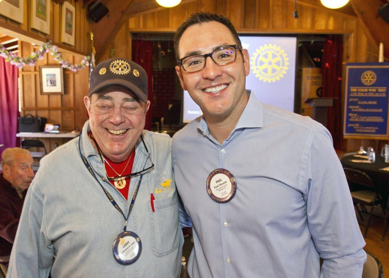 Del Mar Rotary Club celebrates Monty Woolley