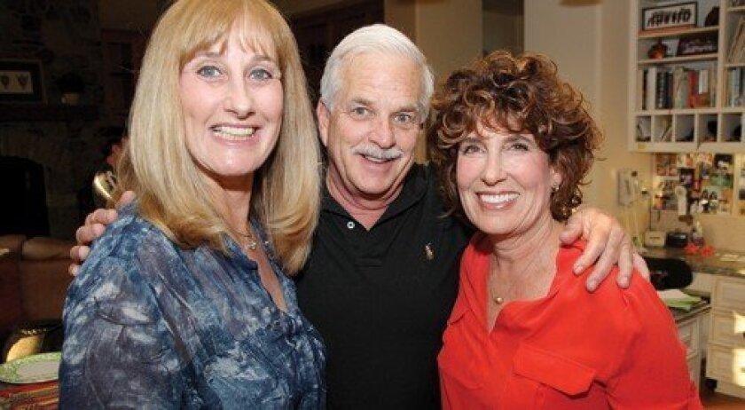 Paula Shelby, Charlie Sher, Dona Sher (Photo: Jon Clark)