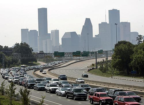 Texas evacuees