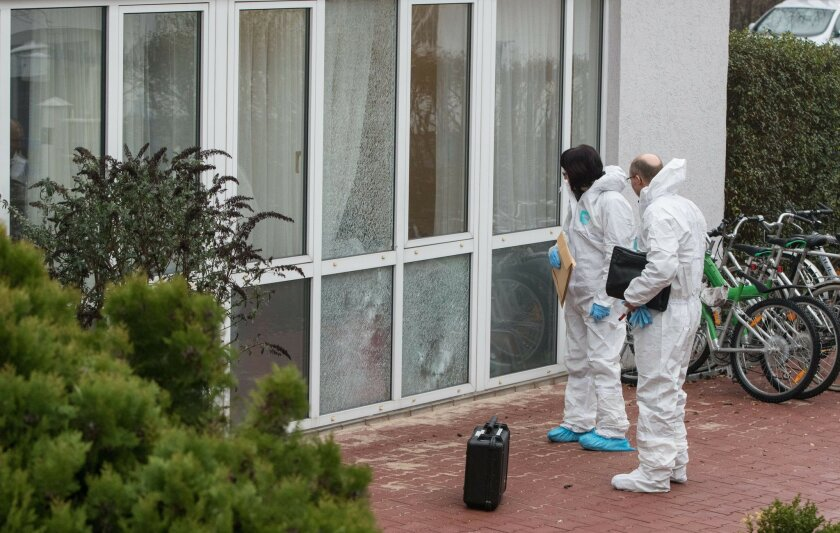 Germany: shots fired at refugee home, 1 man lightly injured