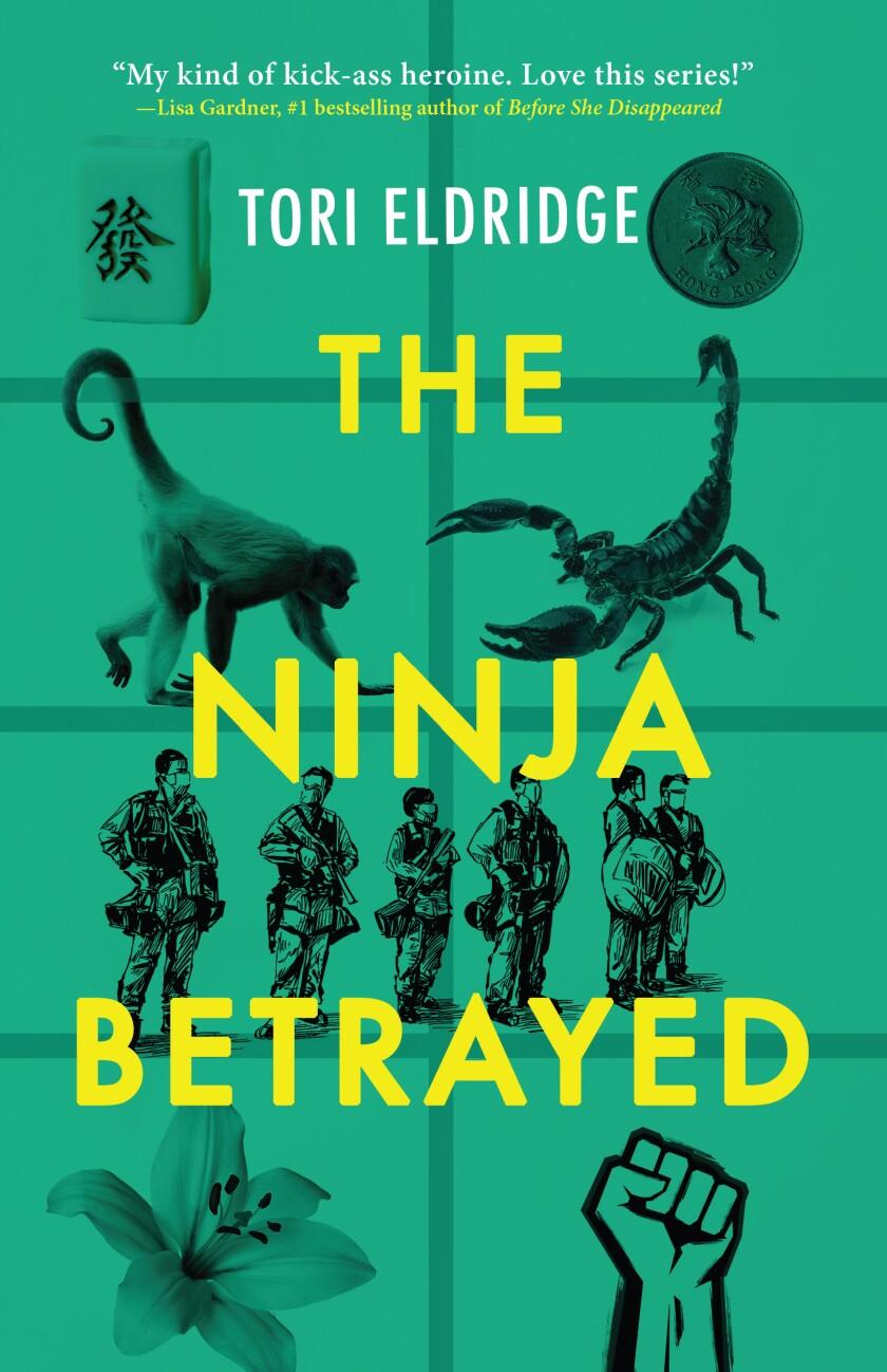 "Book cover by ""The Betrayed Ninja"" by Tori Eldridge"