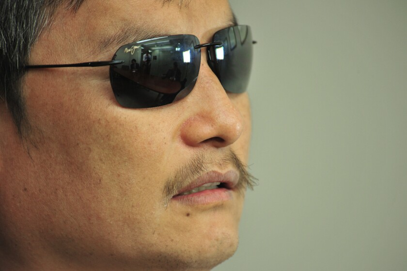 NYU denies it is evicting China dissident Chen Guangcheng