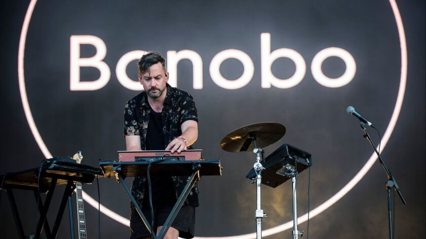 Bonobo will appear at a new Chinatown festival.
