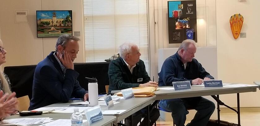 (From left): Mark Krencik, Don Sevrens, Lucky Morrison