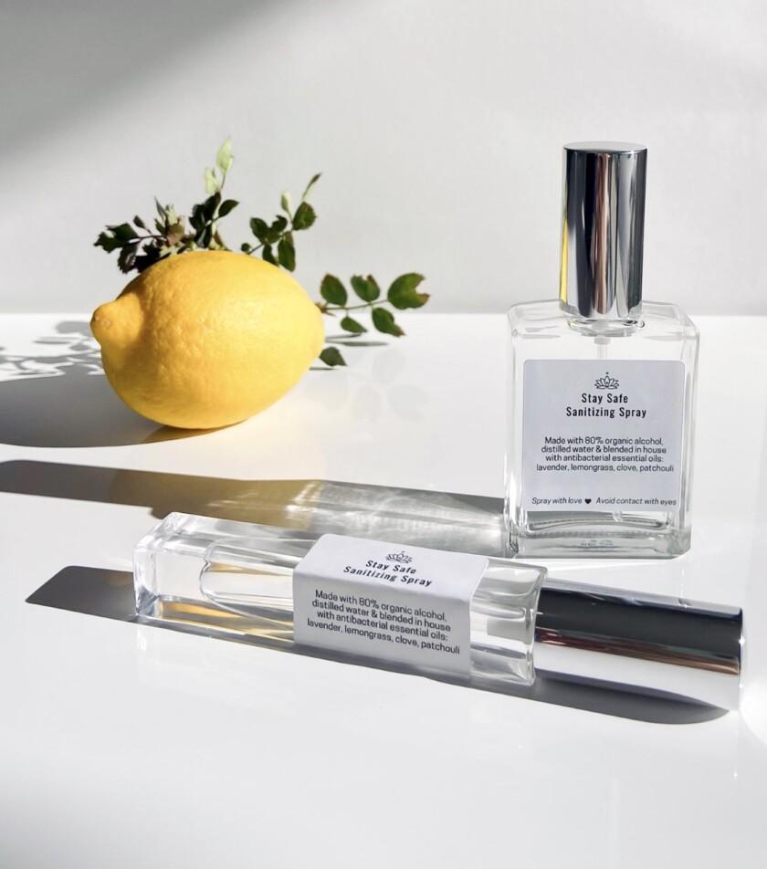 Sarah Horowitz Parfums' Stay Safe Sanitizing Spray