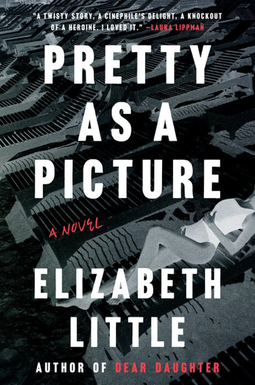 """Book jacket for """"Pretty as a Picture"""" by Elizabeth Little"""